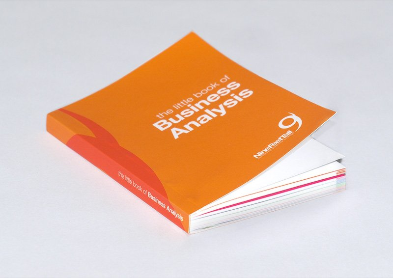 A little book with lots of business advice! Designed in collaboration with Rapport Digital.